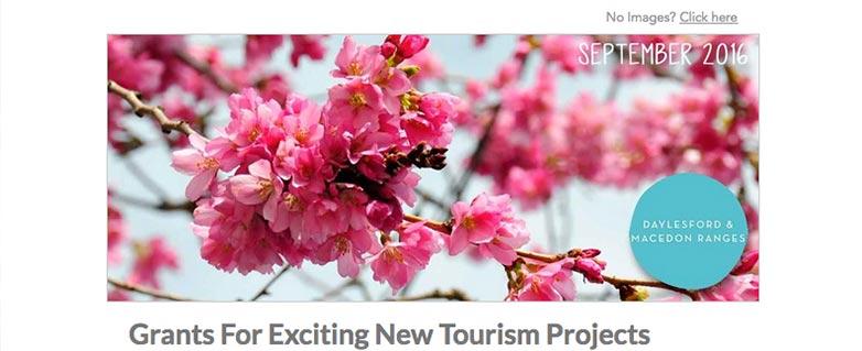 Tourism operator news for September DMR TOURISM nesletter